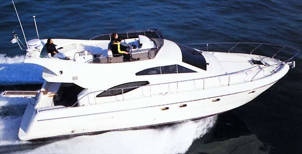 Ferretti Yachts 430 Manufacturer Provided Image