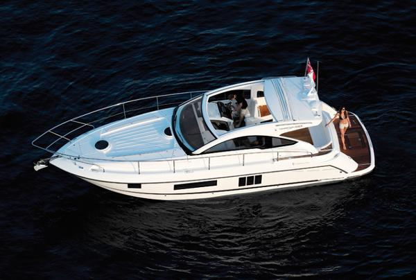 Fairline Targa 38 Open View From Above
