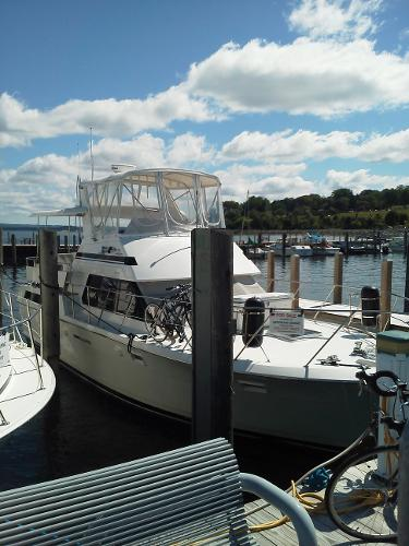 Used Power Boats Motor Yacht Boats For Sale In Charlevoix