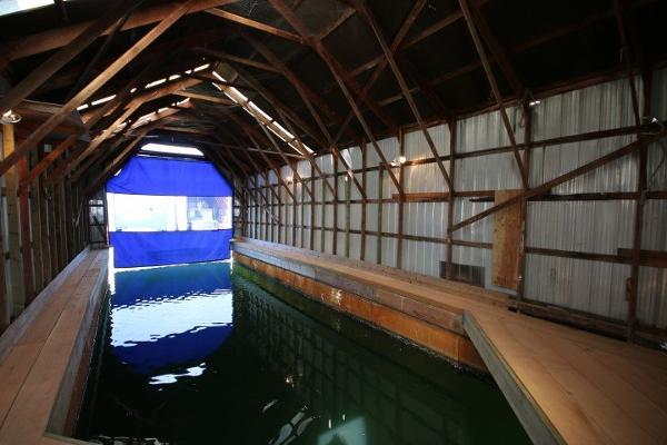 Aluminum Boathouse