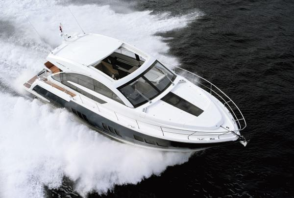 Fairline Targa 50 Gran Turismo View From Above