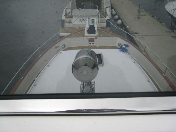 Searchlight on Pilothouse roof