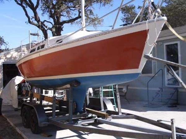 Laguna Balboa 24 Sloop with Trailer