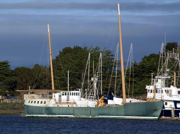 Research Vessel Sailboat