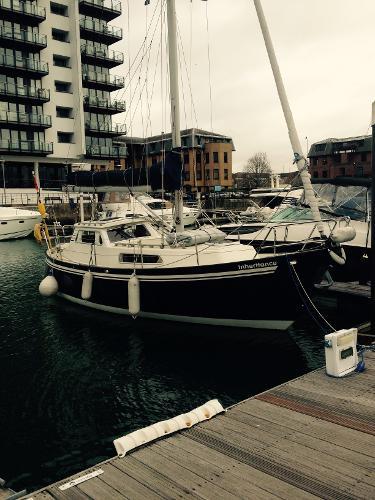 Degero 28 Ms Degaro 28 'Inheritance' sitting pretty at Ocean Village