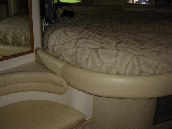 Forward Stateroom (Note NEW Bolster Upholstery)