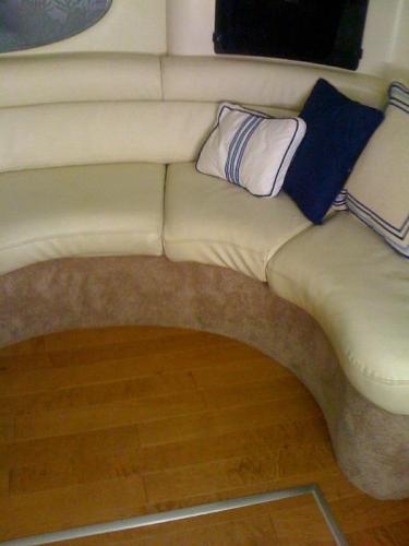 New Settee Upholstery