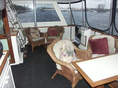 Aft Deck w/Steering Station