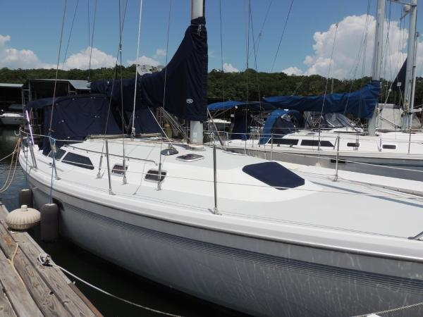Catalina 36 MkII Stb. Side