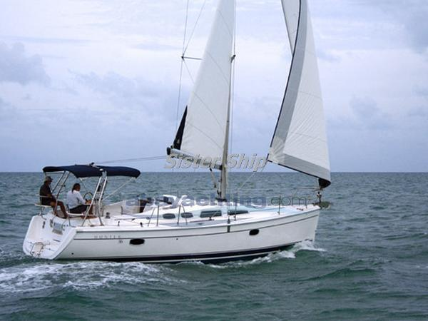 Hunter 36 Shoal Keel Abayachting Hunter Marine 36 1