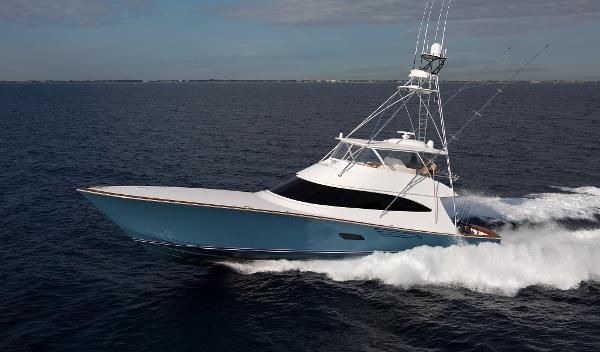 Viking 80 Convertible Port Side