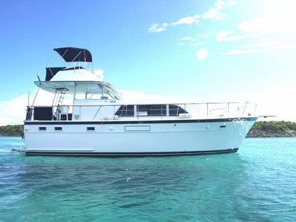 Hatteras Double Cabin Profile