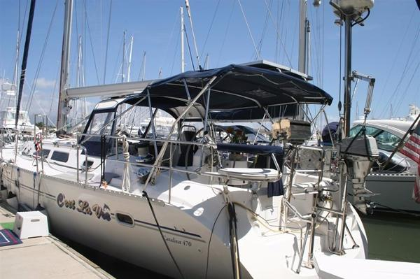 Catalina 470 View port side aft