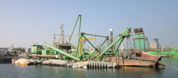 Commercial Cutter Suction Dredger Cutter Suction Dredger (1984)