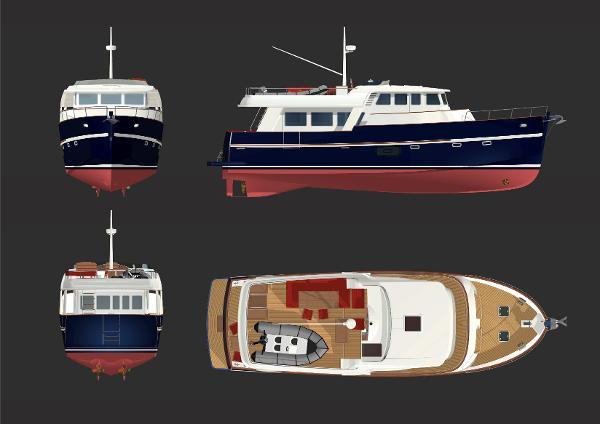 Rhea Marine 57 Trawler