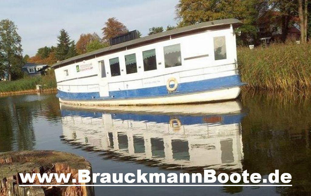 Papst Werft Berlin Hausboot Restaurantschiff neu ausgebaut