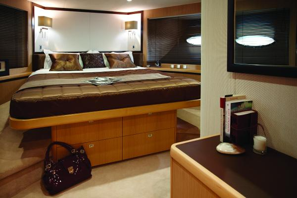 Princess Flybridge 85 Motor Yacht Forward Stateroom