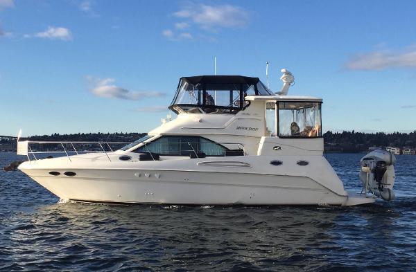 Sea Ray 380 Aft Cabin Profile #1