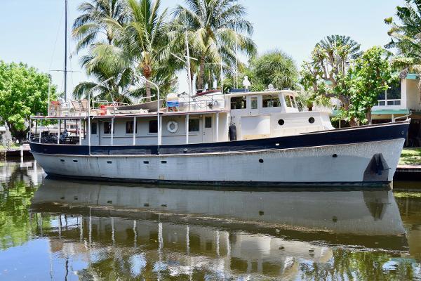 Camden Shipping Company 73' Dory Pilothouse Motoryacht