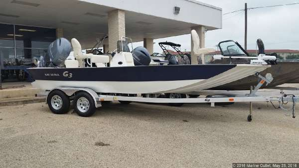 G3 Boats Bay 20 DLX Tunnel