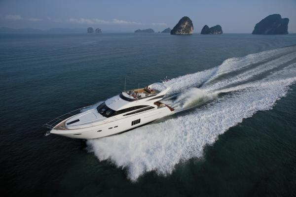 Princess 64 Princess 64 Running Shot