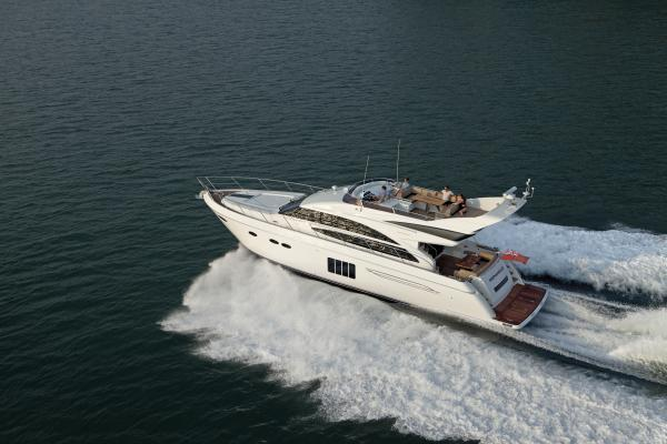 Princess Flybridge 64 Motor Yacht Running Shot