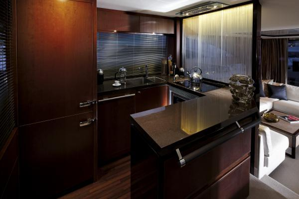 Princess Flybridge 64 Motor Yacht Galley