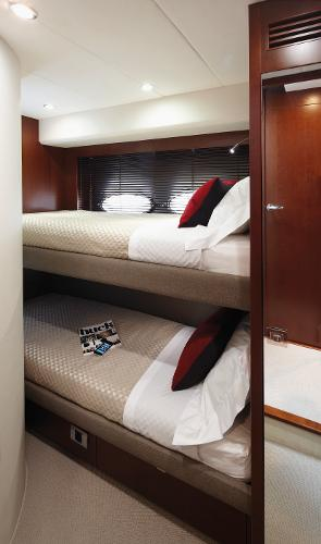Princess Flybridge 64 Motor Yacht Port Guest Cabin