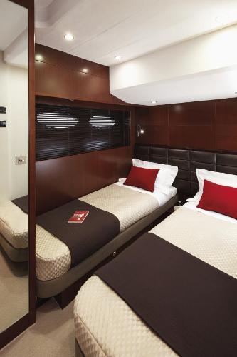 Princess Flybridge 64 Motor Yacht Starboard Guest Cabin
