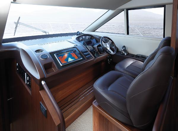 Princess Flybridge 56 Motor Yacht Helm