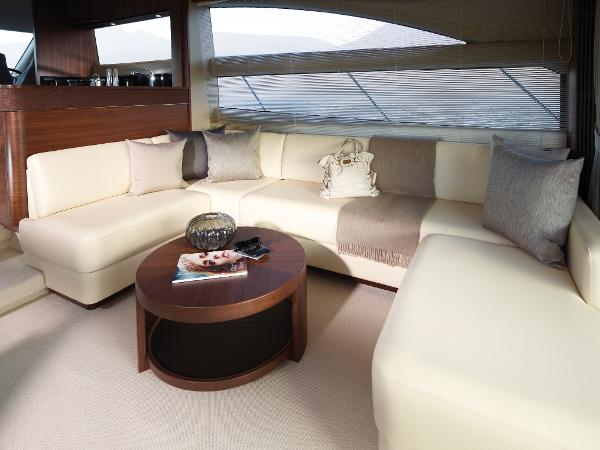 Princess Flybridge 56 Motor Yacht Saloon