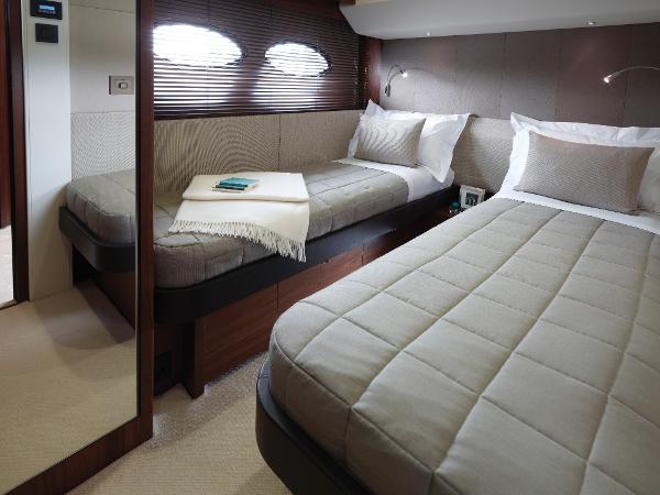 Princess Flybridge 56 Motor Yacht Starboard Guest Cabin