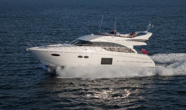 Princess Flybridge 56 Motor Yacht Side View