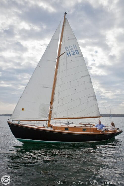 Herreshoff 28 1978 Herreshoff 28 for sale in Mattapoisett, MA