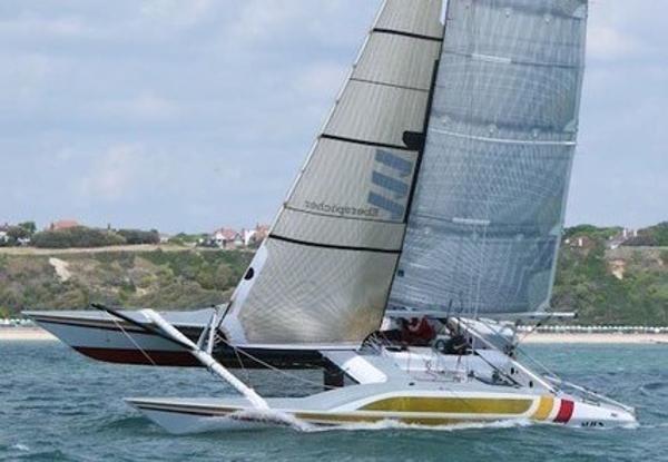 Green Marine Alien - custom 35 Racing Catamaran and fast sailing multihull Green Marine Custom 35 Racing Catamaran