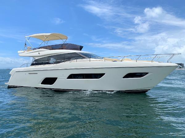 Ferretti Yachts 550 Ferretti 550 Profile