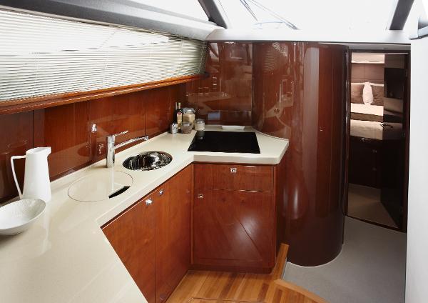 Princess Flybridge 42 Motor Yacht Galley
