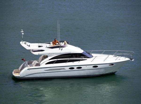 Princess Flybridge 42 Motor Yacht Side View