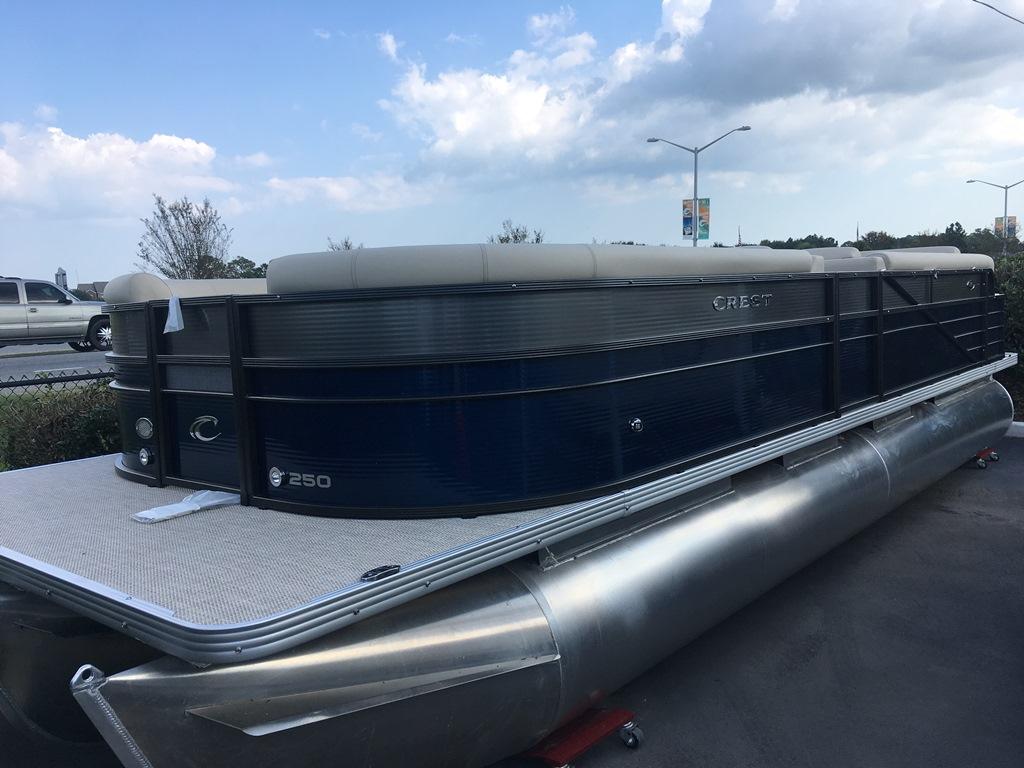 Crest Pontoon Boats Crest 250 II