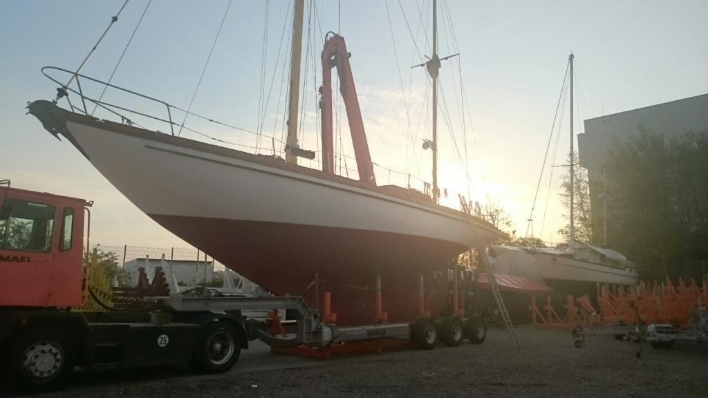 Jachtwerft Stettin Klassische Yacht Ketsch