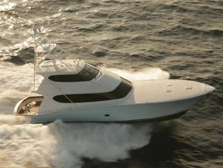 "Hatteras ""77 Convertible"" Manufacturer Provided Image"