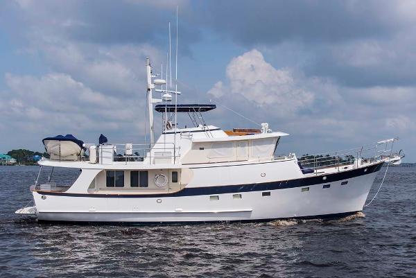 Kadey-Krogen 58 Pilothouse Profile