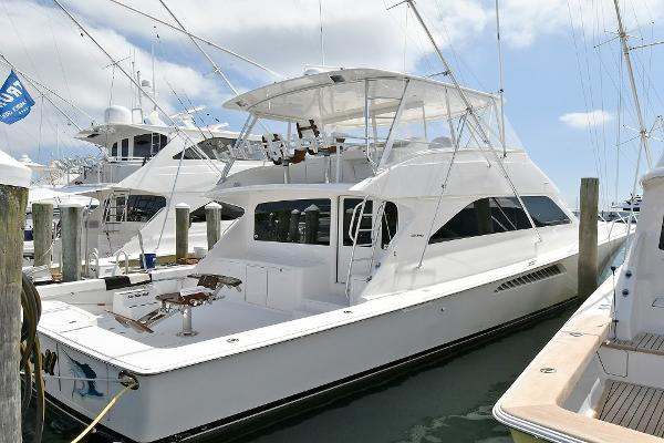 Viking 56 Convertible Starboard Side