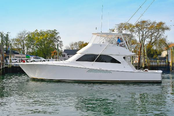 Viking 56 Convertible Port Side
