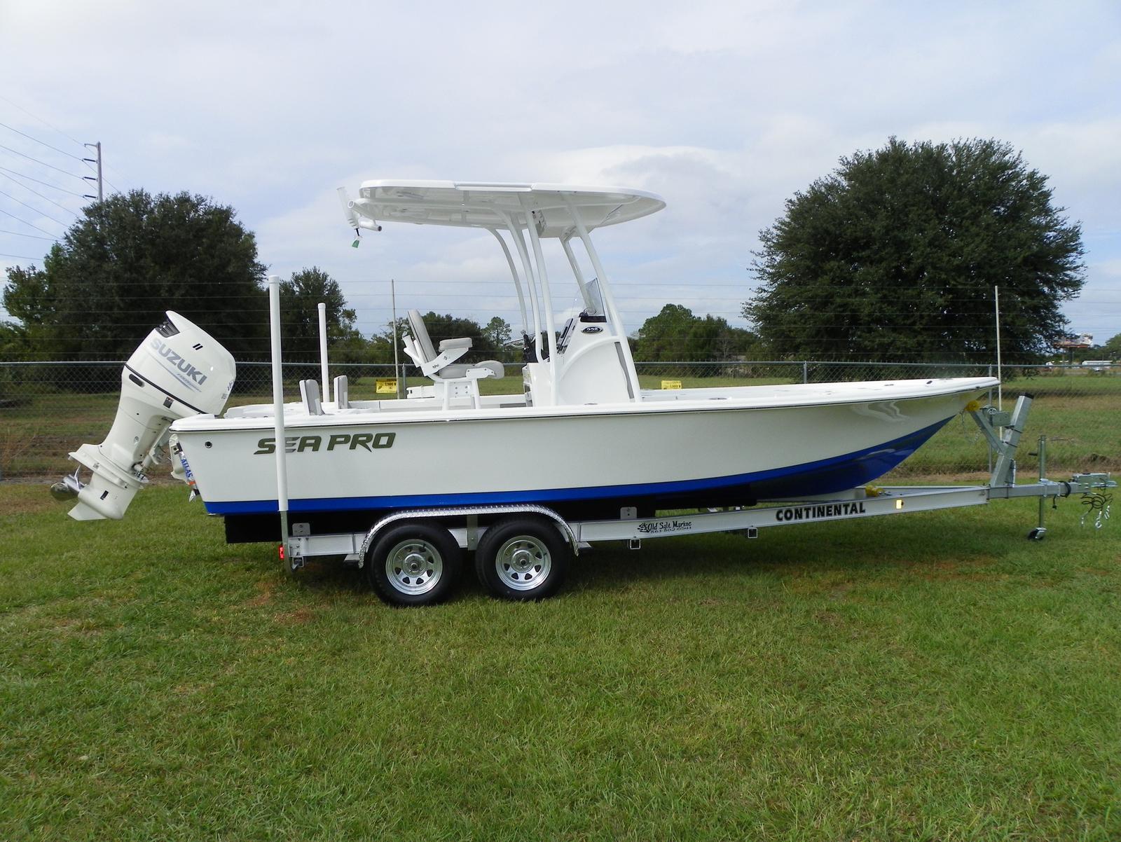 Sea Pro 228 DLX Bay