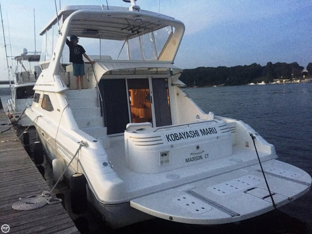 Sea Ray 440 Express Bridge 1997 Sea Ray 440 Express Bridge for sale in Old Saybrook, CT