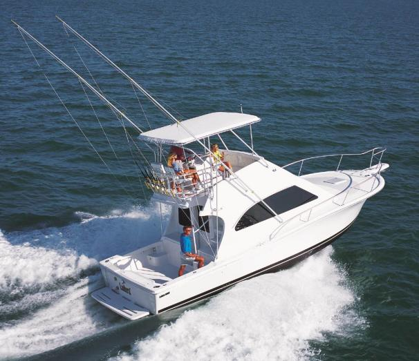 Luhrs 34 Convertible Manufacturer Provided Image