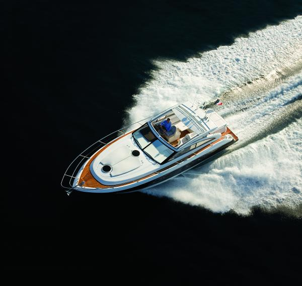 Princess V42 Aerial Shot