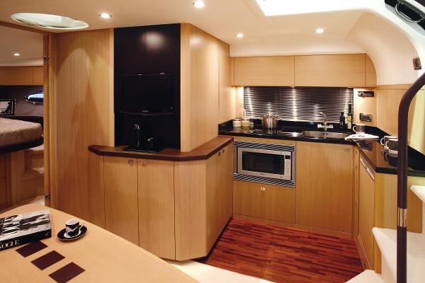Princess V42 Galley