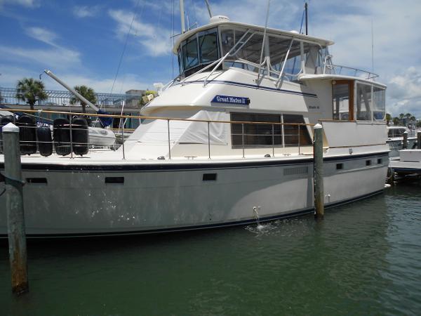 Atlantic Sundeck Motor Yacht